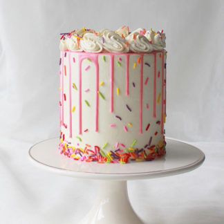Confetti Cake Colorful Sprinkle
